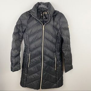 Michael Kors • Black Packable Down Coat